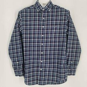Vineyard Vines Tucker Blue Plaid Shirt